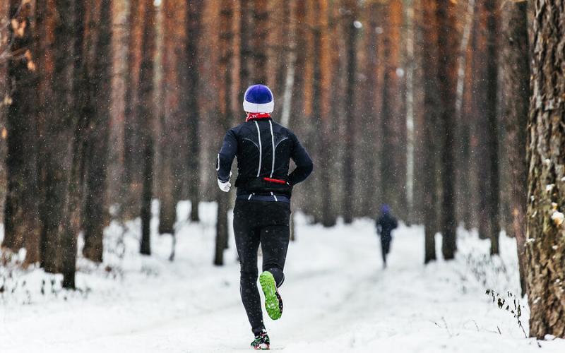 correre inverno